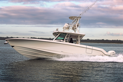 380 Outrage 2017 running PORT 500